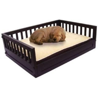 Habitat 'N Home My Buddy's Bunk Dog Bed Size: Medium (Up To 50 Lbs), Color: Espresso|https://ak1.ostkcdn.com/images/products/is/images/direct/bdf207b65712f04e4fa087a9d9efc26fb9c8eb2a/Habitat-%27N-Home-My-Buddy%27s-Bunk-Dog-Bed-Size%3A-Medium-%28Up-To-50-Lbs%29%2C-Color%3A-Espresso.jpg?impolicy=medium