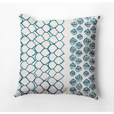 Honeycomb Split Throw Pillow