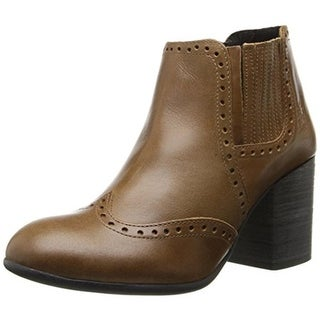 FLY London Womens ASDL Ankle Boots Leather Pull On