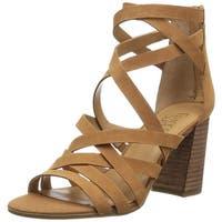 Franco Sarto Womens madrid Fabric Open Toe Casual Strappy Sandals