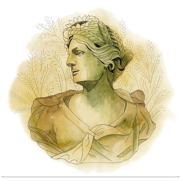 """""""Garden Goddess IV"""" Poster Print"""