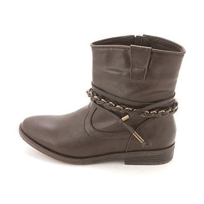 Sugar Womens Texora Almond Toe Ankle Fashion Boots