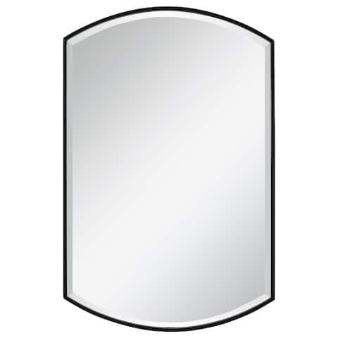 Uttermost Shield Shaped Iron Mirror