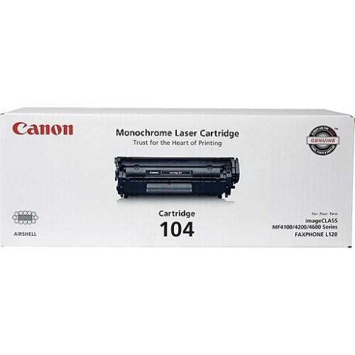 """""""Canon 104 B Toner Cartridge Canon 104 Toner Cartridge - Black"""""""