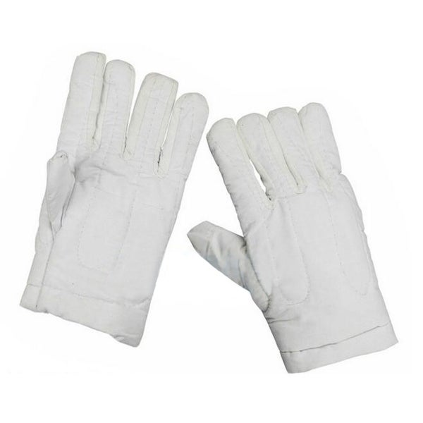 Work Protection Canvas Gloves Heat Resistant