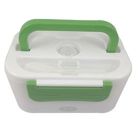 student portable envirnment-friendly electric heating lunch-box 220V Green