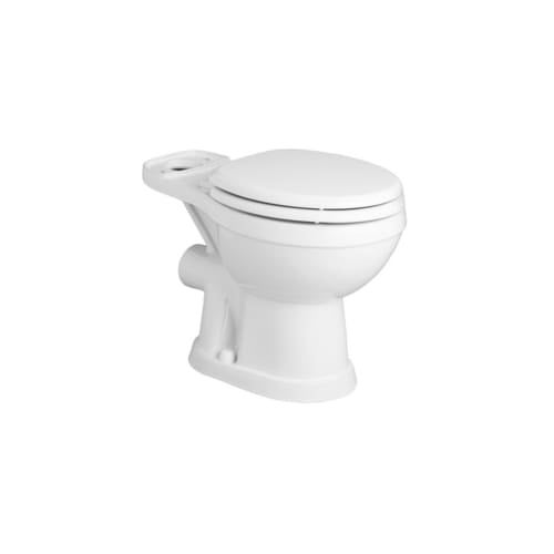 Saniflo 93 Saniflush Rear Discharge Round Toilet Bowl Only - Less ...