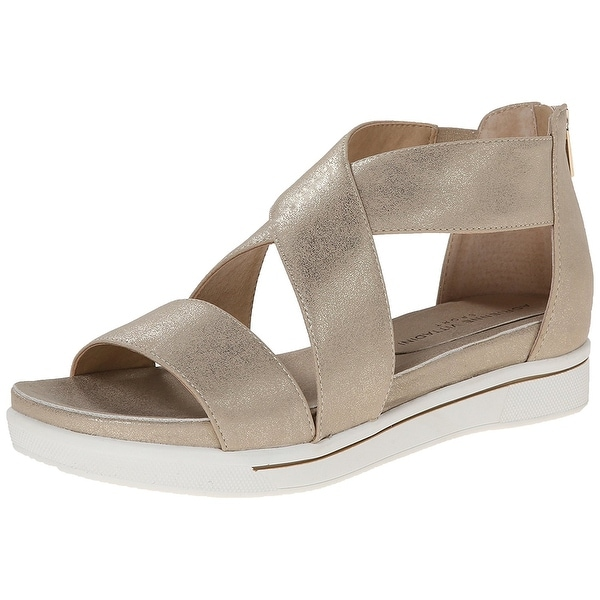6fb6ab5201 Shop Adrienne Vittadini Womens Claud Open Toe Casual Ankle Strap ...