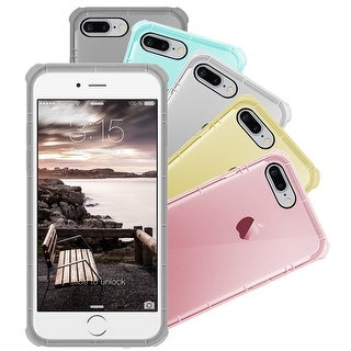 Apple iPhone 7 Plus Silicone Clear Cover Bumper Rubber Case