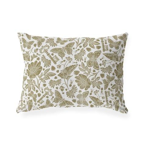 CAMIELLA BROWN Lumbar Pillow By Kavka Designs