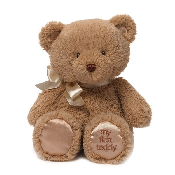 Gund My First Teddy Bear Baby Stuffed Animal, 10 inches