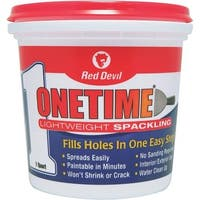 Red Devil Qt Onetime Spackling 0544 Unit: QT