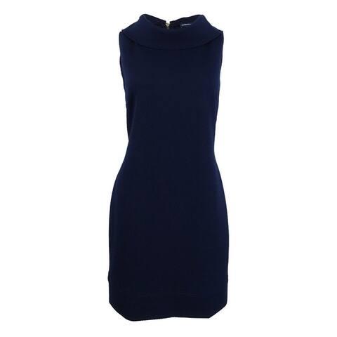 American Living Women's Cowl-Neck Sleeveless Sheath Dress