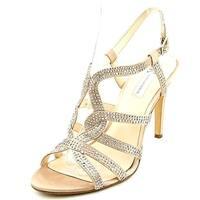 INC International Concepts Randii Women Gold Sandals - 9