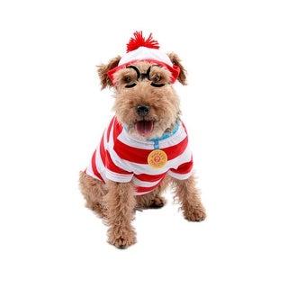 Waldo Woof Pet Game Dog Book Halloween Costume