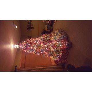 7.5-foot Dunhill Fir Pre-lit or Unlit Artificial Christmas Tree