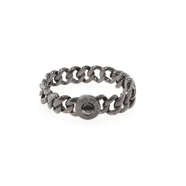 Marc by Marc Jacobs Womens Katie Chain Bracelet Brass Turn Lock