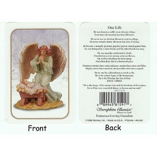 "Club Pack Of 25 Seraphim Classics ""One Life"" Jesus Prayer Cards #81591"