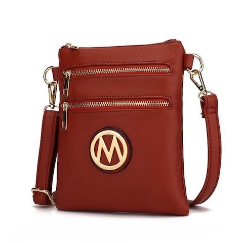 MKF Collection Medina Small Crossbody Handbag by Mia K.