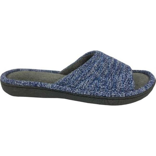 699a80b2b Shop Isotoner Women s Space Knit Andrea Slide Slipper Sapphire Knit - On  Sale - Free Shipping On Orders Over  45 - Overstock - 18910791
