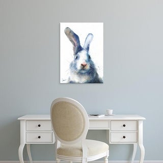 Easy Art Prints Eric Sweet's 'White Rabbit' Premium Canvas Art