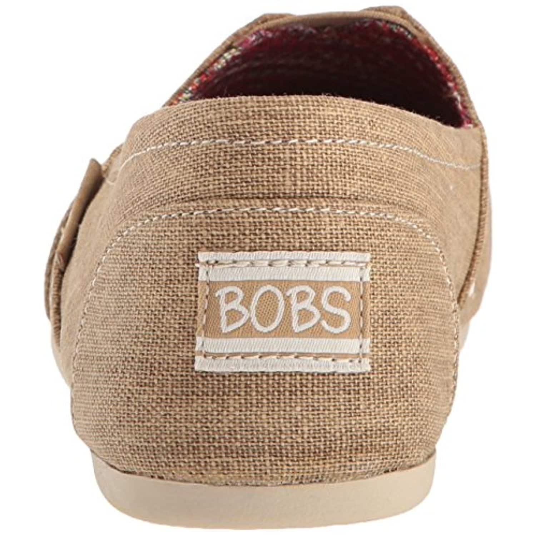 Bobs Plush-Feather Ballet Flat, Tan