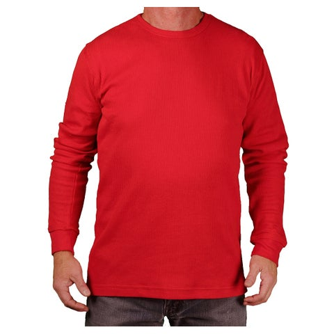 Gear For Sports Men's Thermal Crew Knit Shirt