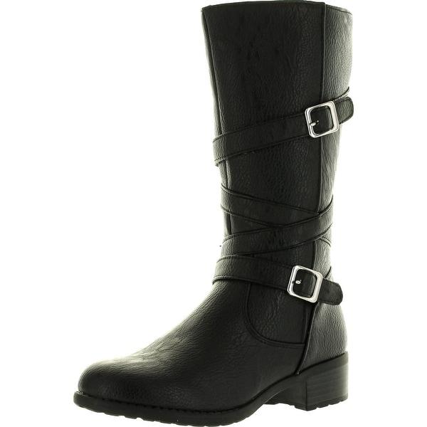 Rachel Girls Nashville Fashion Boots - Black