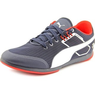 Puma BMW MS Everfit Men Round Toe Canvas Blue Sneakers