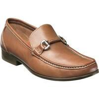 Florsheim Men's Felix Bit Loafer Cognac Smooth Leather