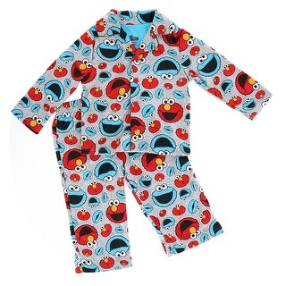 Sesame Street Toddler Elmo and Cookie Monster Pajamas