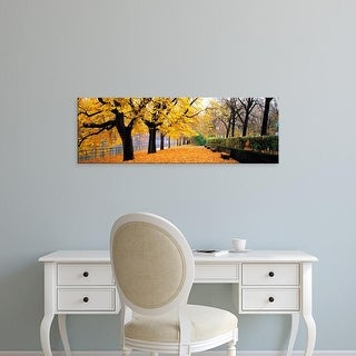 Easy Art Prints Panoramic Images's 'Park Bavaria Munich Germany' Premium Canvas Art