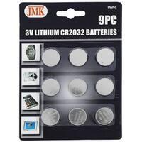 9-pc. 3V Lithium CR2032 Batteries