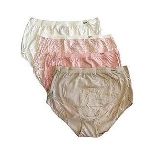 Hanes Womens Premium Pure Comfort Hipster Underwear