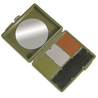 Bobbie Weiner 4 Color Woodland Camouflage Face Paint Kit