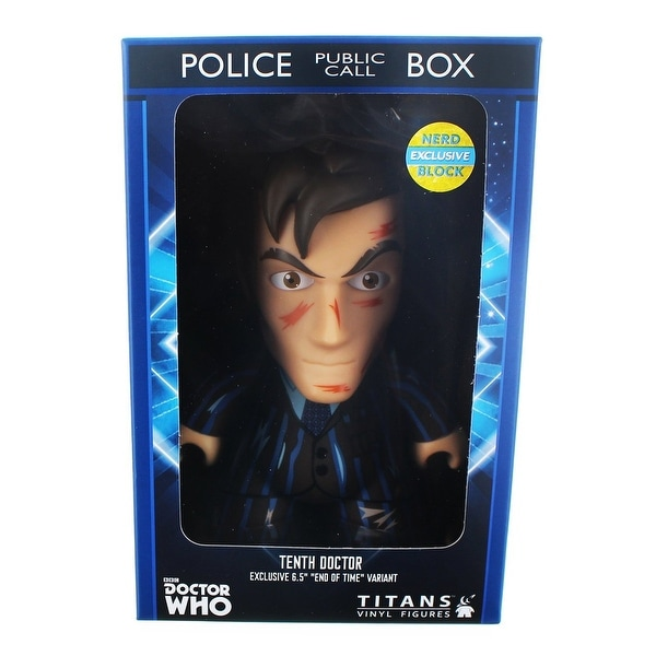 Titan Merchandise Exclusive Doctor Who 9th Doctor Vinyl 6.5