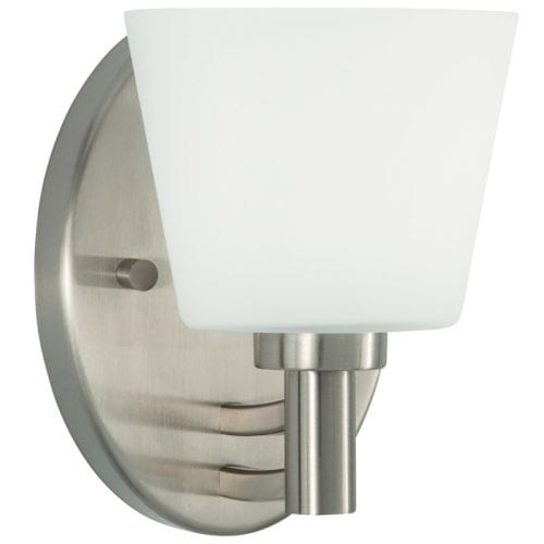 "Park Harbor PHVL2111 Maldive 7"" Tall Single Light Bathroom Fixture"
