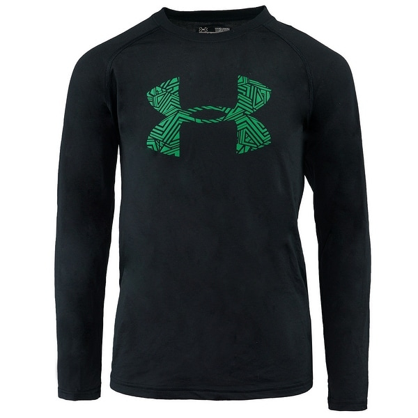 3dc91e945 Shop Under Armour Boys' UA Tech Printed Big Logo L/S T-Shirt - S - Free  Shipping On Orders Over $45 - Overstock - 27104148