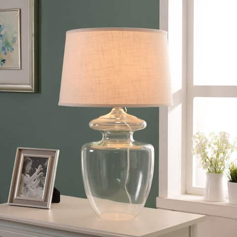"Baden 29"" Table Lamp - Clear Glass"