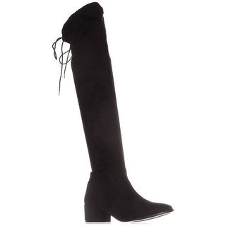 Chinese Laundry Womens Mystical Suede Closed Toe Knee High Fashion Boots