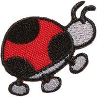 Ladybug - Iron-On Appliques