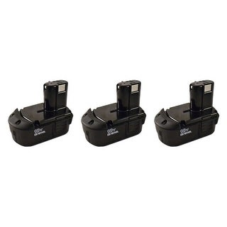 Replacement Battery for Hitachi EB1814SL (3-Pack) Replacement Battery
