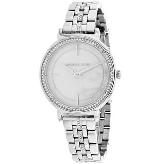 Link to Michael Kors Cinthia White MOP Dial Watch - MK3641 - One Size Similar Items in Women's Watches