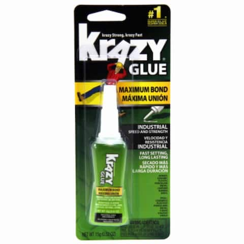 Krazy Glue KG48948MR Maximum Bond Industrial Speed & Strength Gel, 15-Gram