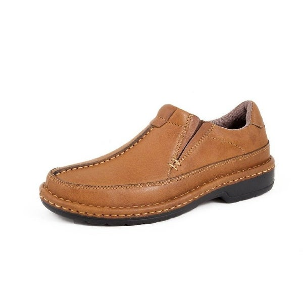 Roper Western Shoes Mens Opanka Slip On Tan