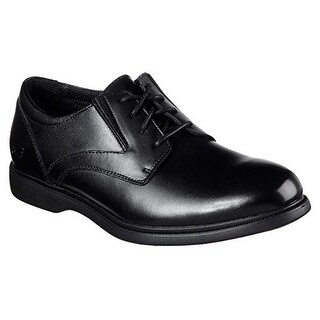 Skechers Relaxed Fit Revelt Remex Mens Oxfords Black 10
