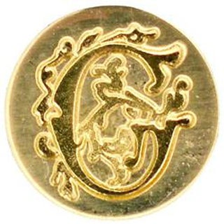 Letter G - Personal Initial Seal