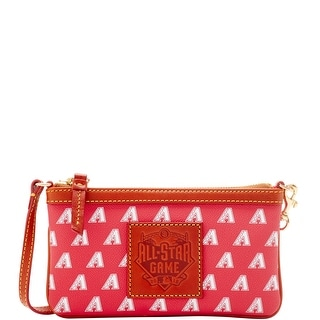 Dooney & Bourke MLB Diamondbacks 2016 All Star Wristlet (Introduced by Dooney & Bourke at $78 in Jun 2016) - Red