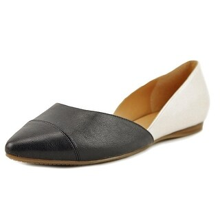 Tommy Hilfiger Naria 2 Women  Pointed Toe Leather Ivory Flats
