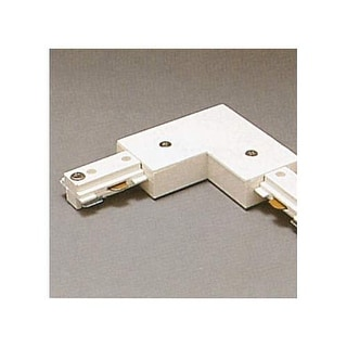 PLC Lighting TR2131 Track Two-Circuit L-Shaped Connector